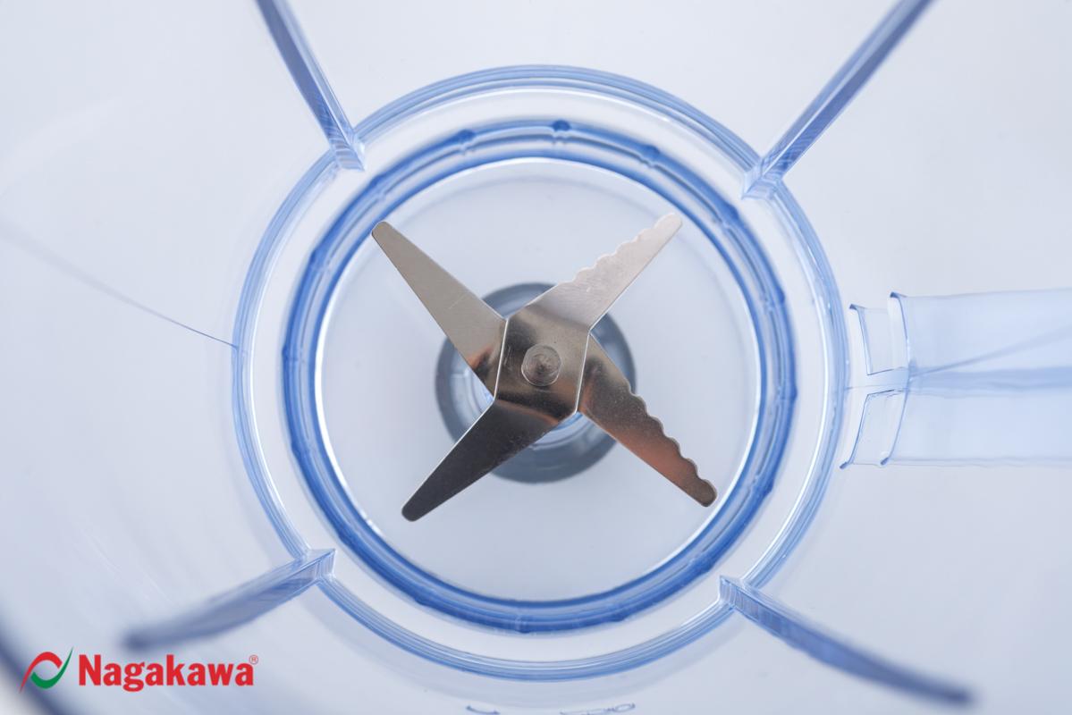 Máy Xay Sinh Tố Nagakawa NAG0809 (400W - 1.25 Lít) - Hàng Chính Hãng